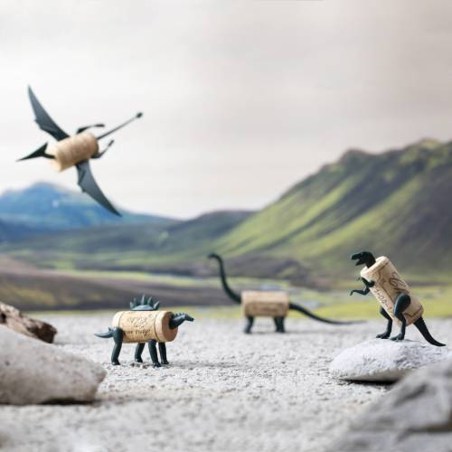Corkers Dinosaures - épingles déco de bouchons