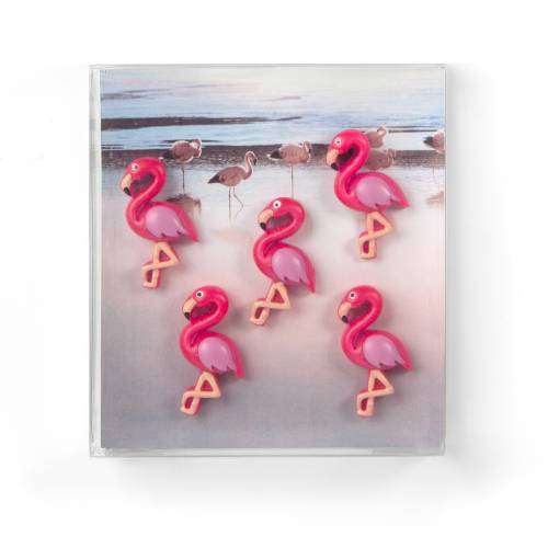 Aimants Flamingo