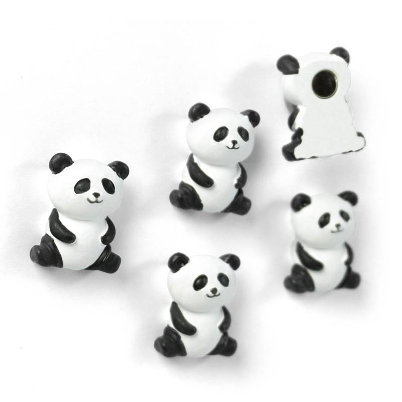 Aimants Pandas