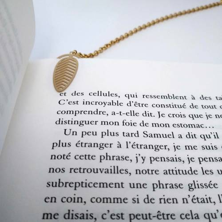 Bijoux de livre - Marque page