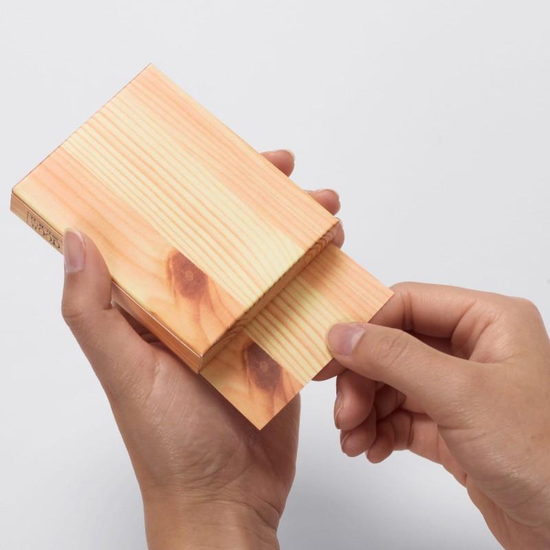 Woodpiece Pocket mémo