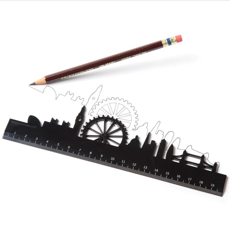 Skyline rulers