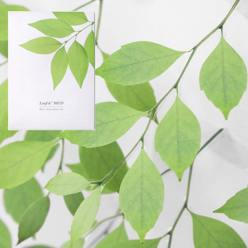 Sticky leaf déco