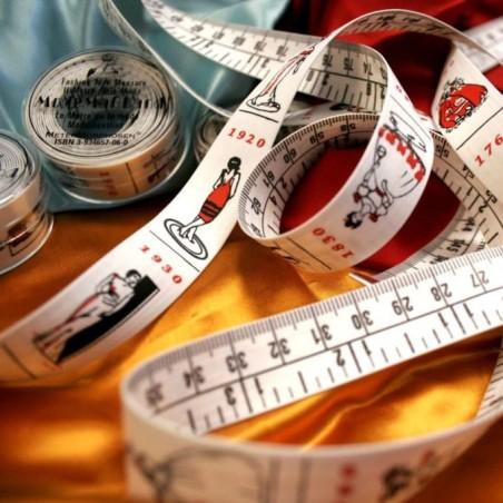Mètre de la mode (ruban de couturière)