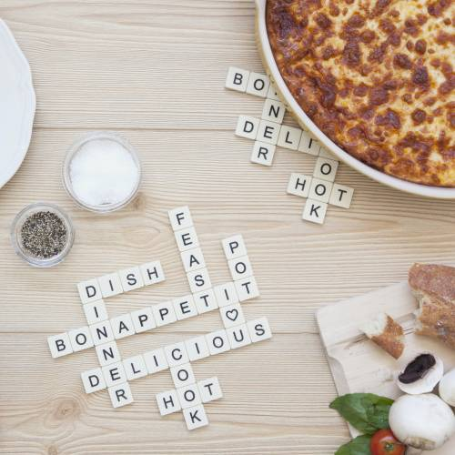 Subtext scrabble dessous de plat