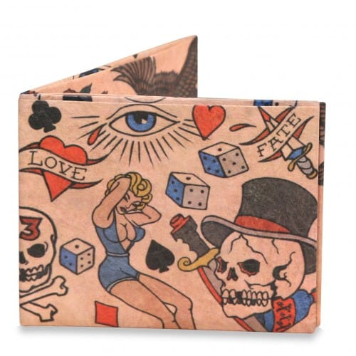 Mighty wallet Tatoo - portefeuille