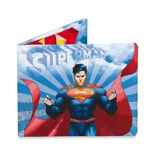 Mighty Wallet Superman In Flight