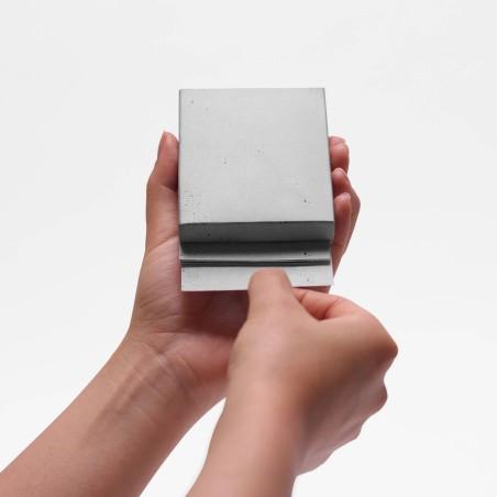 Memo Block Béton - bloc note papier