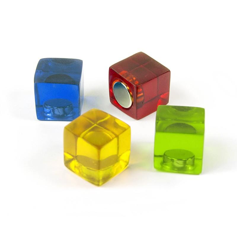 Aimant très puissant Cube couleur