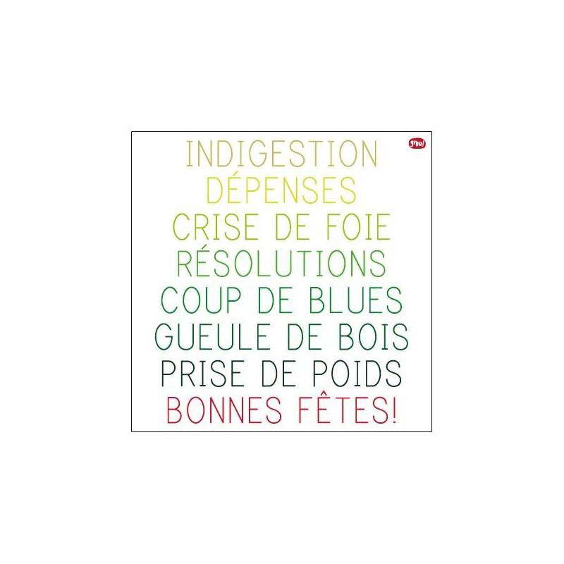 Carte GROU N°38 - Bonne fêtes