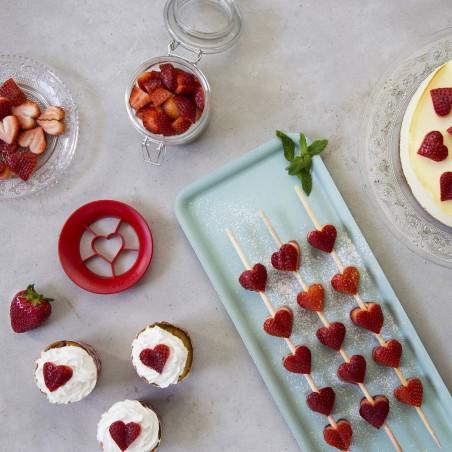 Sweet Heart (coupe fraise en coeur)