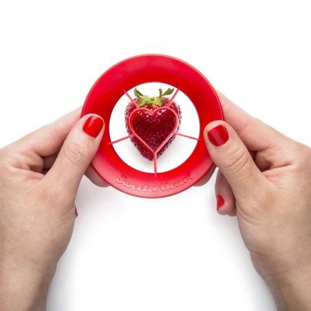 Sweet Heart - coupe fraise en cœur