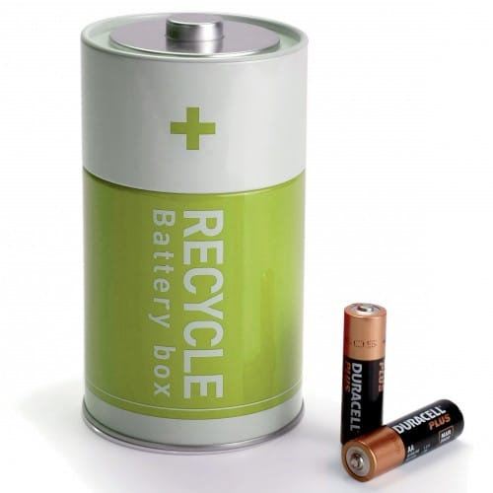 RECYCLE BOX VERTE (boite à piles)