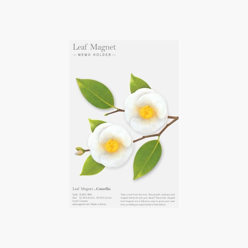 Leaf Magnet Camelia