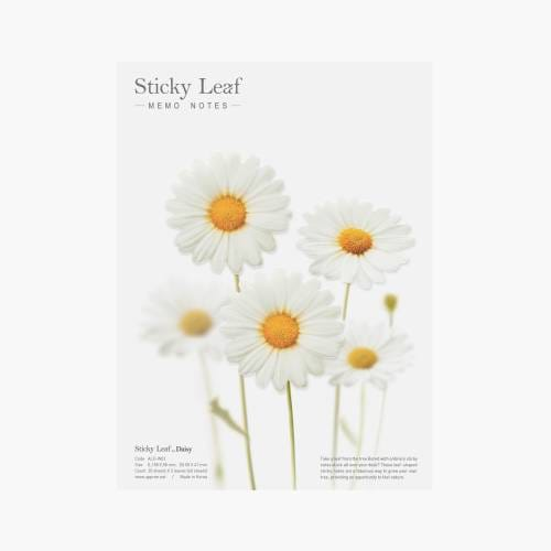 Sticky Leaf Daisy - Marguerite Notes collantes