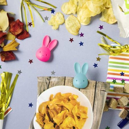 Bag Bunny (lapin ouvre sachet)
