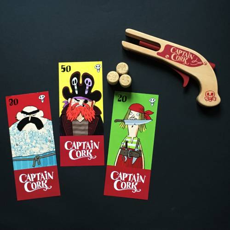 Captain Cork (pistolet à bouchon)