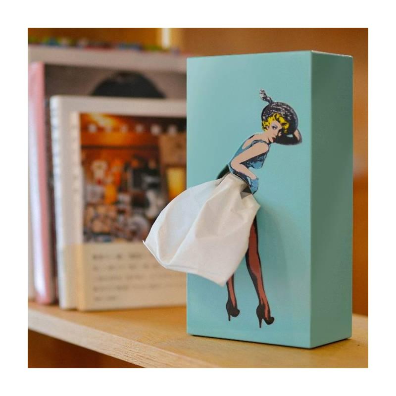 Tissue Up Girl (boite à mouchoirs)