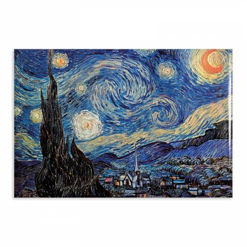 Aimant Gallery d'Art The Starry Night N°24