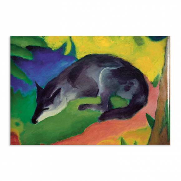 Aimant Gallery d'Art Blue Fox