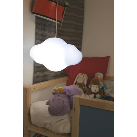Nimbostratus blanc - lampe d'intérieur
