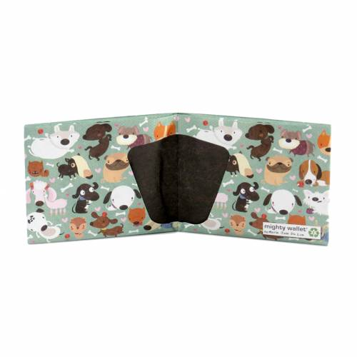 2 pour 1 -Mighty wallet Happy Dogs - portefeuille