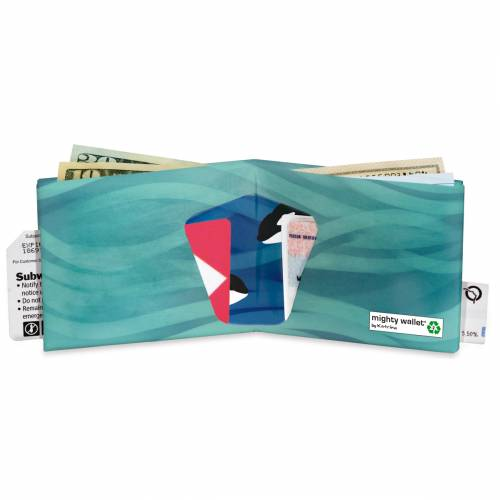 2 pour 1 - Mighty wallet Orca Pod - portefeuille
