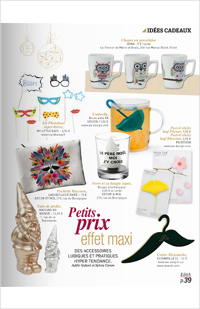 PA Design - Edith magazine - Dec. Janv. 2015