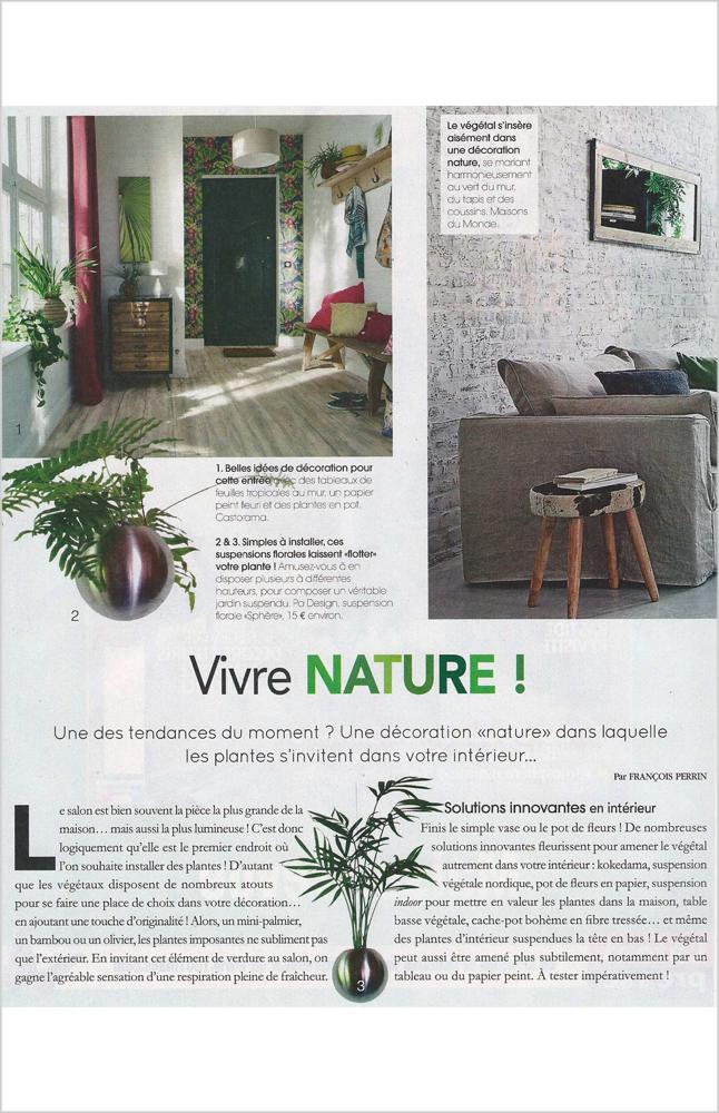 Maison Décoration - Juillet / Aout 2016