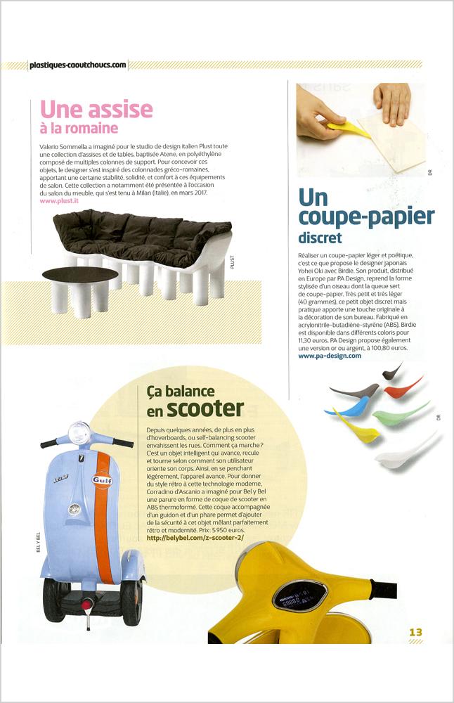 Plastiques & Caoutchoucs magazine - Juin / juillet 2017