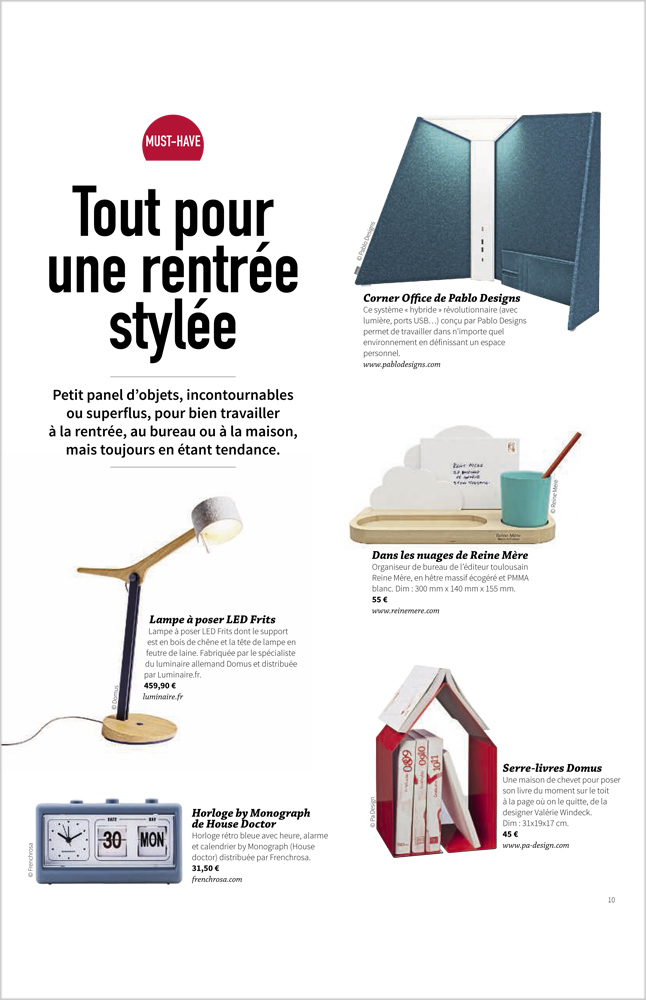 Must Have - Septembre / Octobre 2018