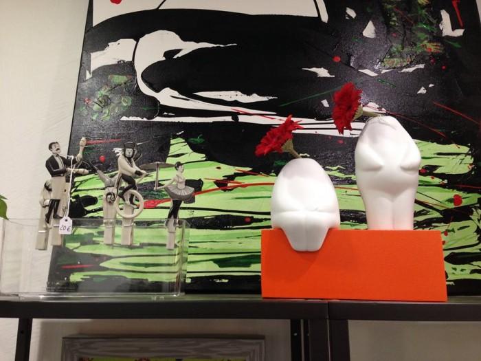 Pegzini et Flowerman dans la Boutique sans non (Périgueux)