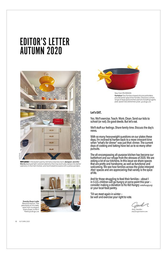 Aspire Design and Home - Automne 2020