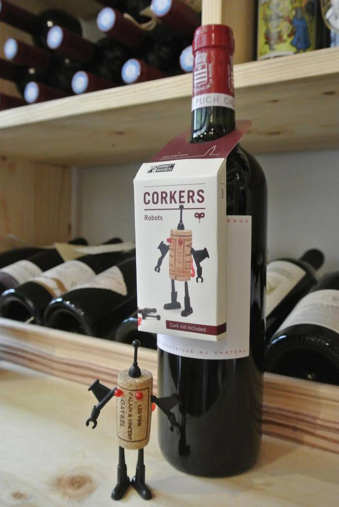 Les Corkers à La Cave de Raymonde Couture.
