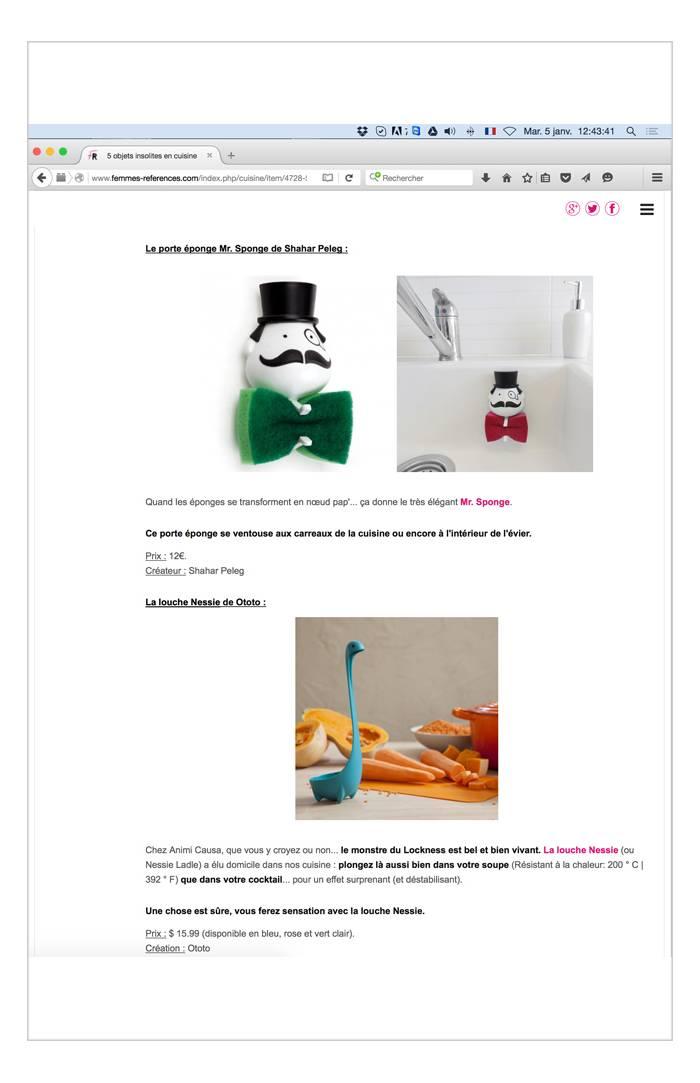 Femmesreferences.com - Janvier 2015