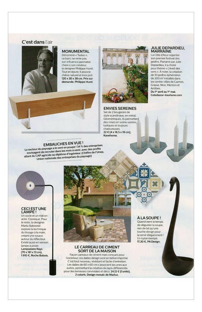 PA Design - Mon Jardin & Ma Maison - Avril 2017