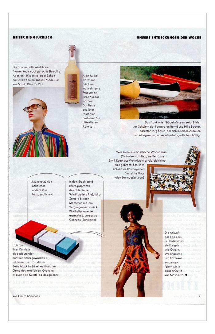Zeit magazin - 24 mai 2017