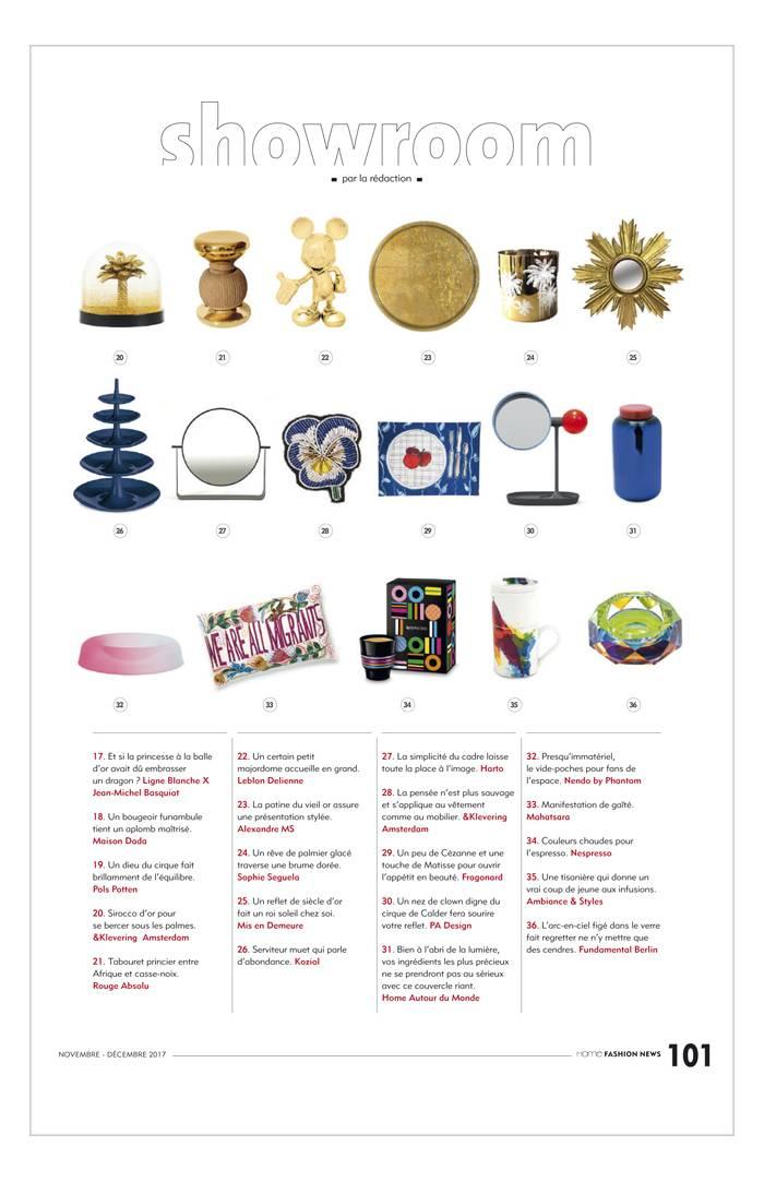 Home Fashion News - Novembre 2017
