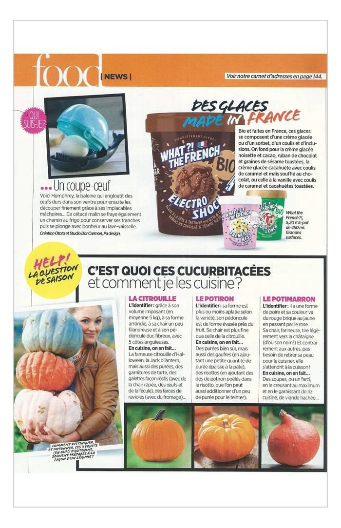 Vital Food - Septembre / Octobre / Novembre 2018