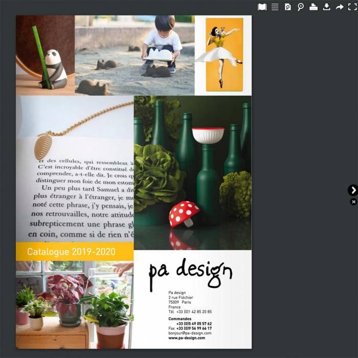 Découvrez le nouveau catalogue PA DESIGN en cliquant sur le texte sous l'image!